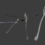 Pic 5 - Set of spoons (Blender)